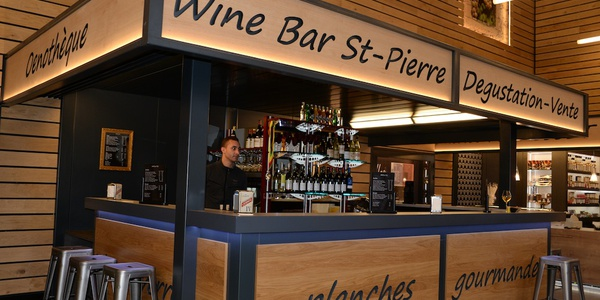 Wine bar Domaine Joseph Burrier